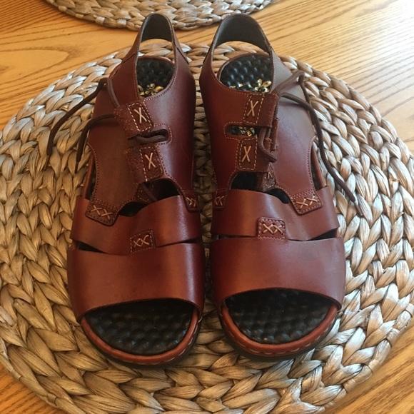 Vintage Rieker Ladies Sandals Size
